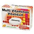 Multivitaminas + Ginseng Caja 24 comprimidos Vallesol