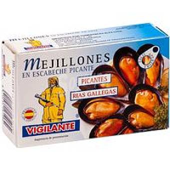Vigilante Mejillones en escabeche picante Lata 115GR