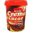 Crema de cacao con avellanas Tarro 500 g Aliada