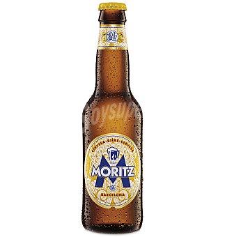 Moritz Cerveza rubia nacional Botella 33 cl