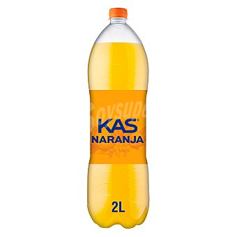 Kas Refresco de naranja Botella 2 l