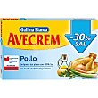 Caldo de pollo -30% de sal 18 pastillas Estuche 171 g Avecrem Gallina Blanca