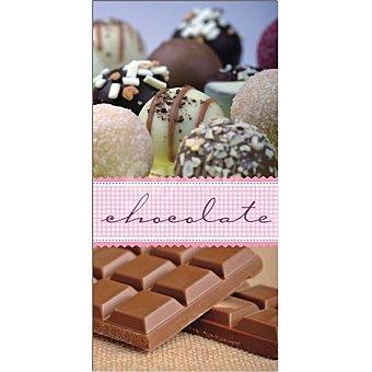 Papstar Servilletas decorado chocolate 33x33 cm Paquete 12 unidades