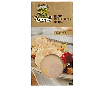 Conservas de Martiko Bloque de higado de oca Pack de 2 x 40 g
