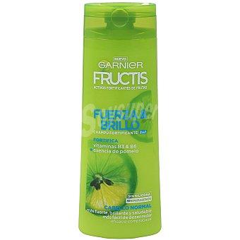 Fructis Garnier Champú fortificante y brillo 2 en 1 para cabello normal Frasco 360 ml