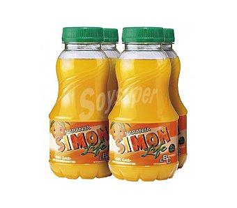 Simon Life Refresco de naranja Pack 4x33 cl