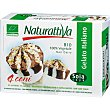Bio mini conos de helado italiano de arroz sabor chocolate y nata ecológicos y sin lactosa  caja 480 ml 4 unidades NATURATTIVA