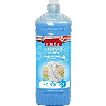 Aliada Suavizante concentrado Clásico Azul botella 2 l 72 dosis