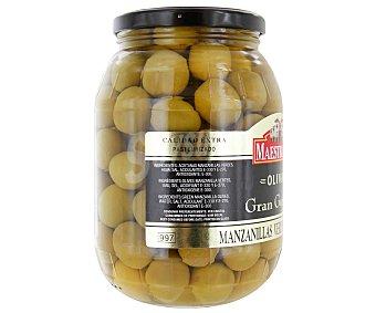Maestranza Aceitunas manzanilla verdes con hueso 600 gramos