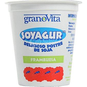 GRANOVITA Soyagur Yogur de soja sabor frambuesa Tarrina 145 g
