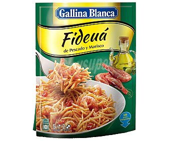 Gallina Blanca Ideas al plato fideuá de pescado y marisco sobre 126 g Sobre 126 g