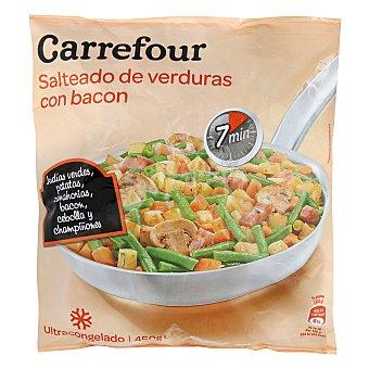 Carrefour Salteado verdura con bacón 450 g