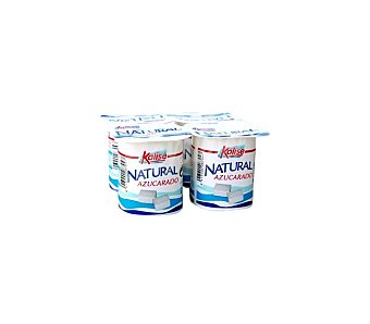 Kalise Yogur natural azucarado Pack 4x125 grs