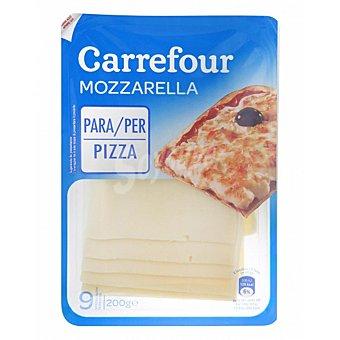 Carrefour Queso mozzarella en lonchas 200 g