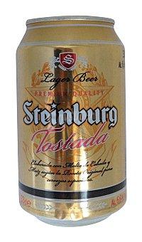 Steinburg Cerveza tostada Lata 33 cl