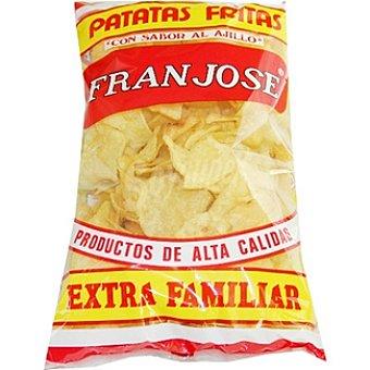 FRANJOSE Patatas fritas con sabor al ajillo Bolsa 375 g