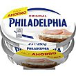 Queso natural pack 2x250 g Philadelphia