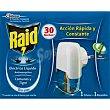 Insecticida líquido , aparato eléctrico 30 noches 21 mililitros Raid