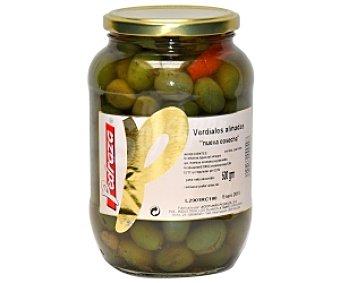 pedraza Aceituna Verdial aliñada Extra Tarro de 600 Gramos