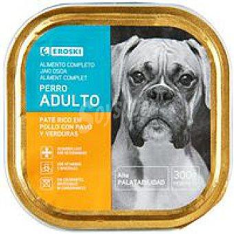 Eroski Comida Perro Paté de Pollo 300g