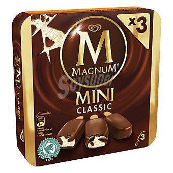 Magnum Helado bombón mini classic 3 ud