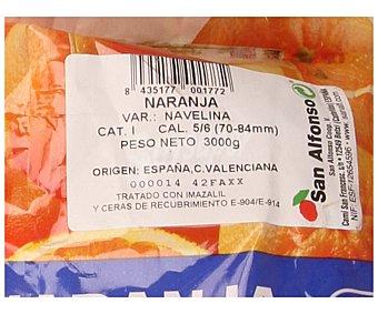 Auchan Producción Controlada Naranjas de zumo 3 kilogramos