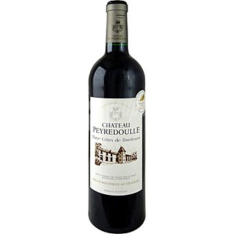 CHATEAU PEYREDOULLE vino tinto de Burdeos Francia botella 75 cl