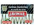 Sardinilla en aceite de oliva 14/22 88 g Javimar