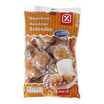 DIA Magdalenas redondas envasadas individualmente bolsa 615 gr Bolsa 615 gr