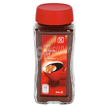 DIA Cafe soluble descafeinado Frasco 100 gr