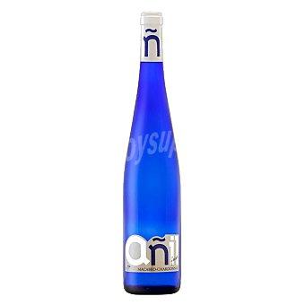 AÑIL Vino blanco con denominación de origen de la Mancha Botella de 75 centilitros