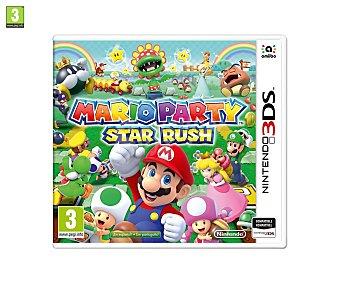 Nintendo Videojuego Mario Party: Star Rush para Nintendo 3Ds. Género: minijuegos. pegi: +3 Mario Party: Star Rush 3Ds