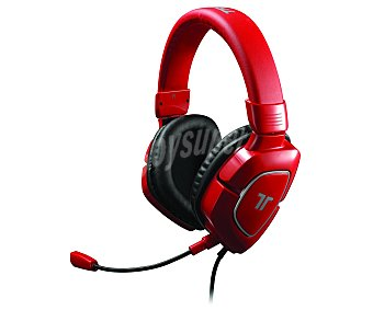 Tritton Cascos con Micrófono AX 180, compatible con PS4/PS3/XBOX360/WiiU/Pc/Mac. Color Rojo 1 Unidad