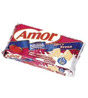 Nestlé Amor Galletas fresa 100 g