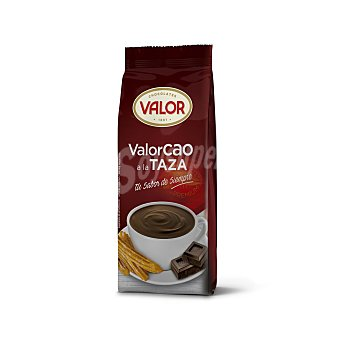 Valorcao Chocolate a la taza en polvo Paquete 500 g