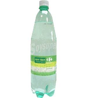 Carrefour Agua mineral con gas Botella de 1,25l