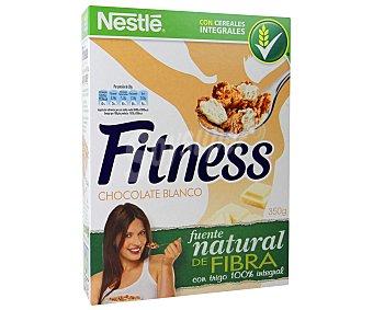 Fitness Nestlé Cereales de chocolate blanco Paquete de 375 gramos