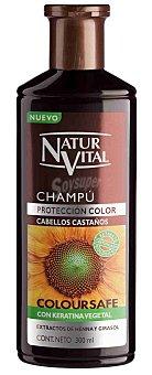 Naturaleza y Vida Champú henna reflejos castaños Frasco 300 ml