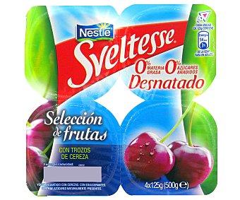 Sveltesse Nestlé Y.desn.muesli c/cerezas 4 unids