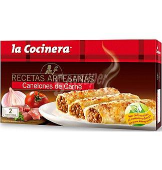 """La Cocinera Canelones carne """"al dent 530 G"""