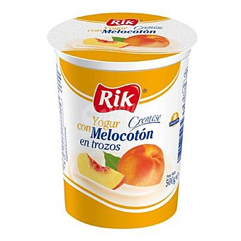 Rik Yogur con melocotón 500 g