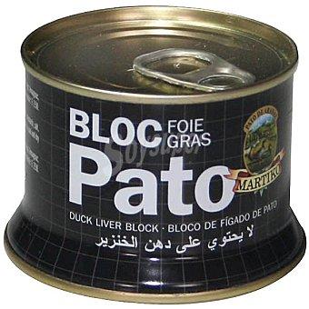 Martiko Bloc de foie gras de hígado de pato Lata 130 g