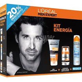 Men Expert L'Oréal Paris Hidraenergetic Pack 1 unid
