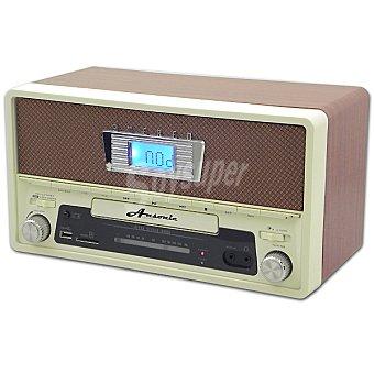 ANSONIC ON THE AIR-10 Radio vintage con USB y SD