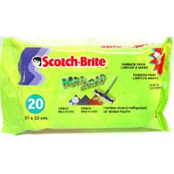 Scotch Brite Recambio de mopa Pack 20 unidades