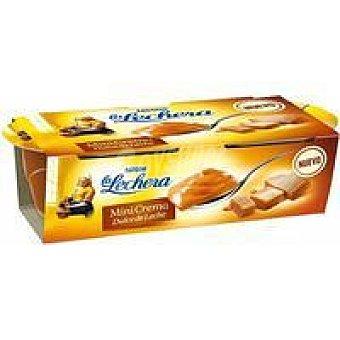La Lechera Nestlé Mini crema dulce de leche Pack 2x70 g