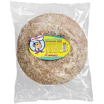 Los Compadres Bizcochón sabor coco artesano pieza 500 g 500 g