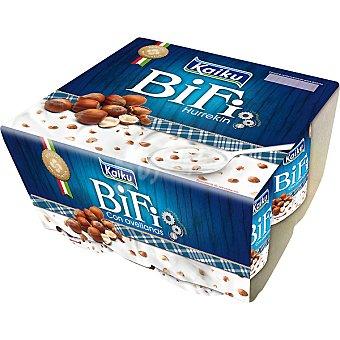 Kaiku Bifi Activium con avellana Pack 4x125 g