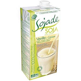 SOJADE Bebida de soja con calcio sabor vainilla ecológica Envase 1 l