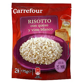Carrefour Risotto con queso y vino blanco 175 g